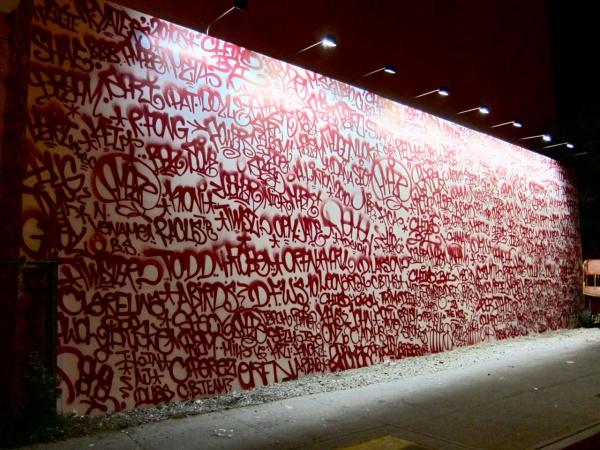 Barry McGee's Houston Street Mural 01