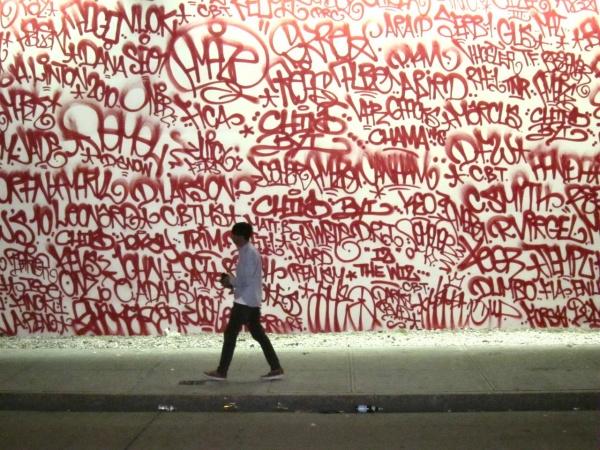 Barry McGee's Houston Street Mural 02