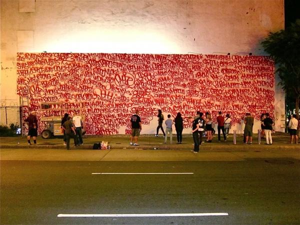 Barry McGee's Houston Street Mural 04
