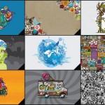 Jthree iPad iPhone Wallpaper Pack