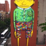 'The Giant' by Os Gemeos & Futura 1