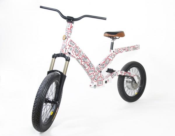 Ultra Motor x Pez x Joshua Blank - A2B Bicycle