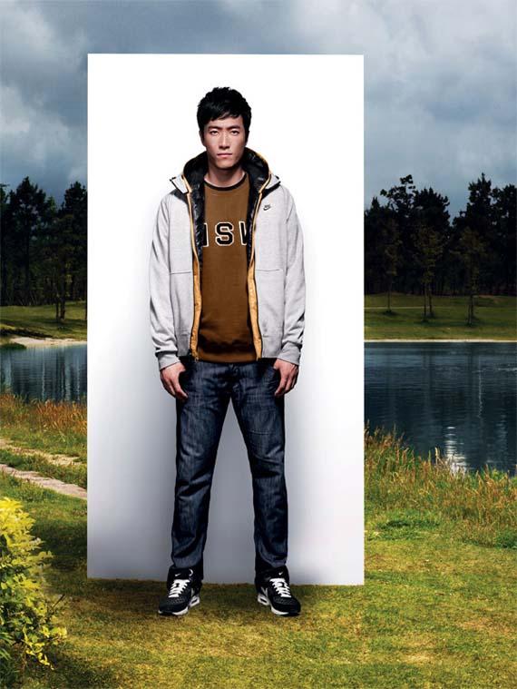 Liu Xiang x Nike Sportswear Holiday 2010 Lookbook 03