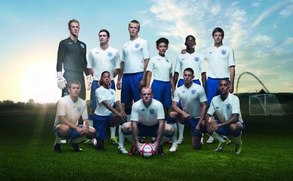 Umbro x Peter Saville England National Football Team 2010 - 2011 Home Kit 01