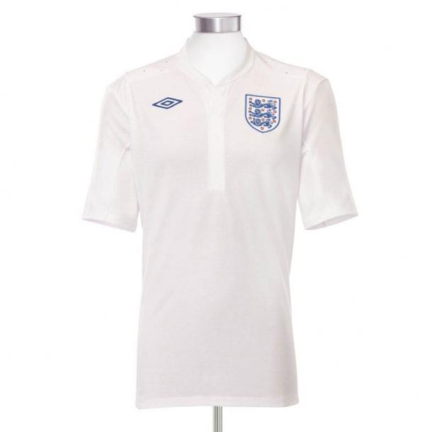Umbro x Peter Saville England National Football Team 2010 - 2011 Home Kit 02