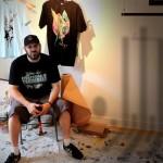 Upper Playground presents- Alex Pardee's 'Zerofriends' Pop-Up Shop 01