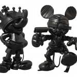 Medicom-Mickey-Mouse-Roen-Figures-Black