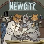 New City Cover by Paul Hornschemeier