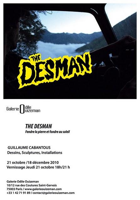 the desman poster