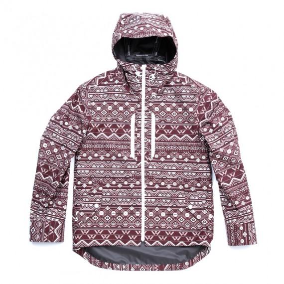 Gore-Tex-Paclite-Shell-Primitive-Pattern-Short-Jacket-Burgundy-White-570x570