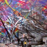 Saber The American Graffiti Artist at NYC Opera Gallery