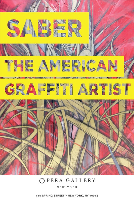Saber The American Graffiti Artist at NYC Opera Gallery (2)