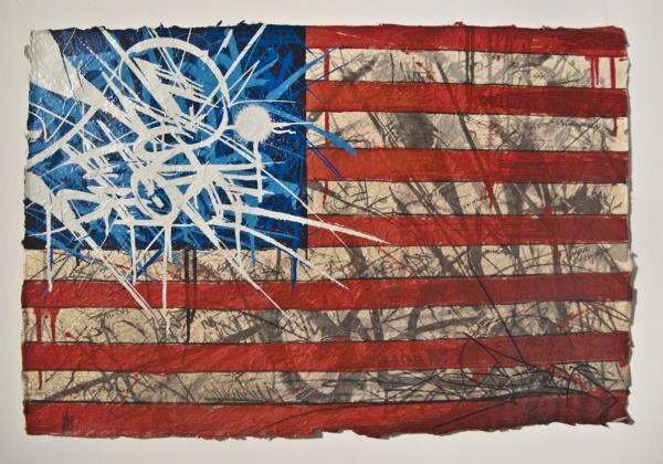 Saber The American Graffiti Artist at NYC Opera Gallery (4)