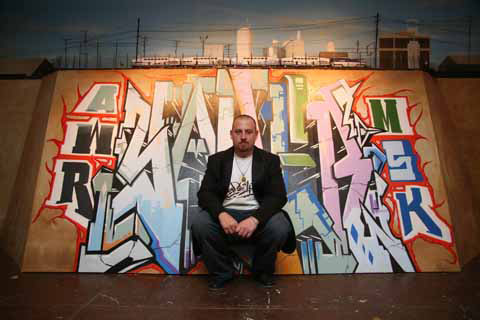 Saber The American Graffiti Artist at NYC Opera Gallery (5)