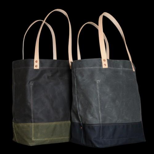 Strawfoot-Handmade-Waxed-Canvas-Tote-in-Dark-Brown-Olive-500x500