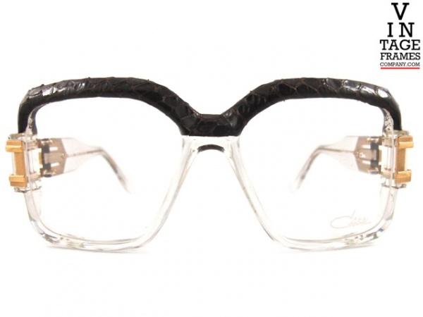 Vintage-Frames-Company-CAZAL-623-Snake-Skin-Brown-Front-Tagged_2