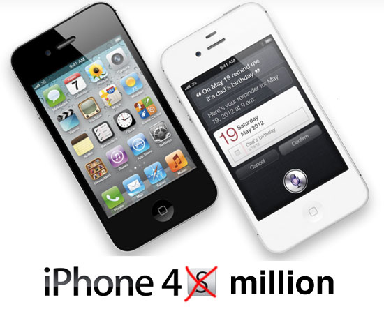 iphone4-million-weekend