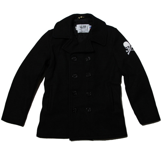 mastermind-japan-schott-nyc-pea-coat-03