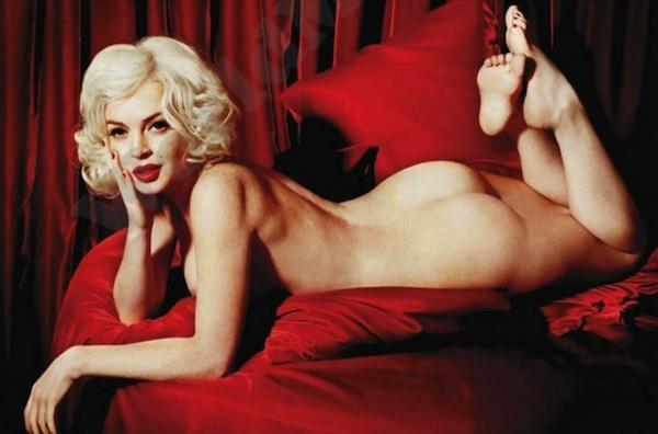Lindsay Lohan for Playboy Magazine