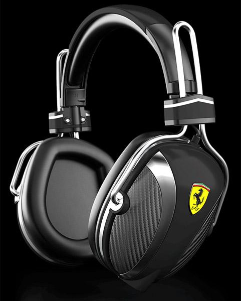 Ferrari Scuderia Headphones-02