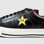 Super Mario Bros. x CONVERSE One Star Ox - Black