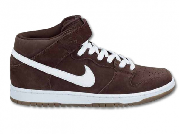 Nike SB Dunk Mid Brogue Brown