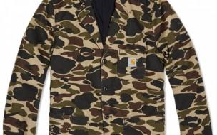 Carhartt Sid Camouflage Blaer