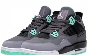 "Nike Air Jordan IV Retro ""Green Glow"""