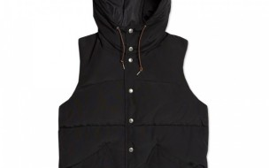 Beams Plus Hooded Down Vest