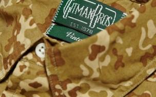 Gitman Vintage Desert Camouflage Shirt 1