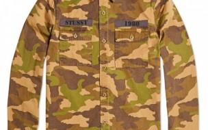 Stussy Holiday Camouflage Shirt