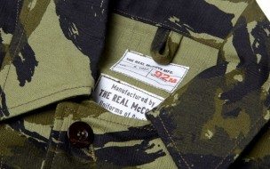 The Real McCoy's Sgt. Oddball Lizard Shirt Jacket 1
